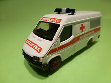 CORGI TOYS FORD TRANSIT - AMBULANCE -  1:40? - GOOD CONDITION