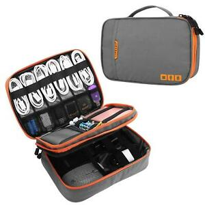 Device Cable Bag Multi-function Travel Digital Storage Pouch iPad iPhone