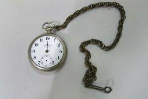 Ball Watch Co Cleveland Official RR Standard 21 Jewels Pocket Watch *read*