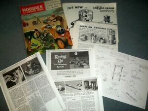 Vintage Tether Car- Dooling Engine Hop-Up & Arrow Race Car Modification