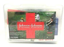 JOHNSON & JOHNSON All-Purpose First Aid Kit ~ 170 Items ~ SEALED