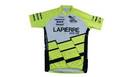 Maillot vélo rétro Nalini Lapierre Marzocchi Mavic Magura Vetta Michelin