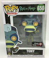 Funko Pop Rick and Morty #650 Tony GameStop Exclusive #2