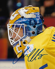 Sweden Jacob Markstrom Signed Autographed 8x10 Photo COA B
