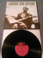 LIGHTNIN' SAM HOPKINS - S / T LP N. MINT!!! ORIGINAL U.S ARHOOLIE F-1011