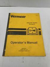 Vermeer D808x100 Navtec Operators Manual Omoc98 1
