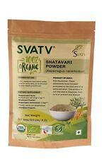 SVATV Shatavari Pulver (Spargel Racemosus) 227g USDA / EU-zertifiziert Bio