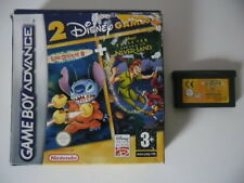 DISNEY LILO & STITCH 2 PETER PAN RETURN TO NEVERLAND - NINTENDO GAME BOY ADVANCE