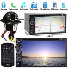 For Honda Jazz Accord Civic Car DVD Player 2 DIN Radio Stereo+ LED Backup Camera