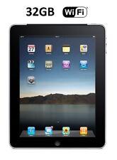 Apple iPad 1st Gen 32GB, Wi-Fi, 9.7in Black / Silver, A1219, MB293B, No Cellular