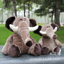 35CM Huge Elephant Soft Plush Toys Kids Bedroom Stuffed animals Pillow