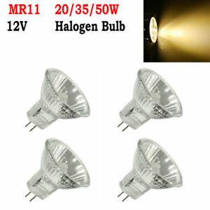 4/6 Pcs MR11 20/35/50W Halogen Bulbs Spotlight Replace Lamps Reflector Downlight