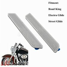 White Motorcycle Front Fork Leg Reflector Cover Reflective Sticker For Harley
