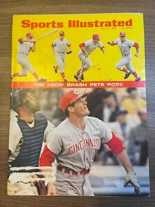 1968 Sports Illustrated PETE ROSE (REDS) 05/27/1968