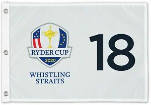 2020 RYDER CUP (WHISTLING STRAITS) SCREEN PRINT Golf FLAG