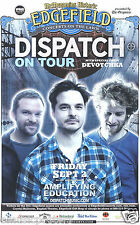 DISPATCH /DEVOTCHKA 2011 PORTLAND CONCERT TOUR POSTER-Jam Band, Indie Folk Music