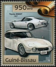 1967 TOYOTA 2000GT Coupe Grand Tourer Car Stamp