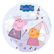 "PEPPA PIG EDIBLE 7.5"" ROUND CAKE TOPPER ICING SHEET #2"