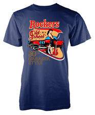 Rockers 50s Greaser Style Old School Adult T-Shirt