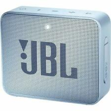 JBL GO 2 Portable Rechargeable Wireless Bluetooth Waterproof Speaker - Cyan