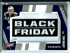 2016 Panini Black Friday Patch/Relic # 1 Tom Brady QB New England Patriots