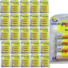 500 AA Rechargeable Batteries 1300mAh 1.2V NiMh Solar Light Battery Wholesale