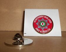 Northern Ireland Fire and Rescue Service Lapel pin badge