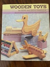 Wooden Toys Book 1987. Woodworking Patterns And Designs Animals Trains Planes