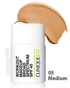 Clinique Fit 05 MEDIUM Workout Makeup Broad Spectrum SPF 40 - NEW SEALED!