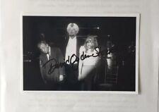 David Ogden Autograph on photograph