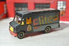 Matchbox  Express Delivery Van - Elite - Black - Loose - 1:64 - Cargo Truck