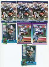 James Dixon 7 card lot Houston Cougars / Dallas Cowboys