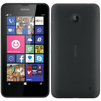BRAND NEW NOKIA LUMIA 635 *4g* BLACK WINDOWS 8 SMARTPHONE *Unlocked* 8Gb 4G LTE