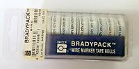 Etiquetas Bradypack Alambre Marcador Cinta Rolls 10 Rollos De Número 6 BPR-6