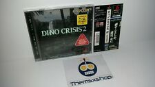 J-67 SONY PLAYSTATION 1 PS 1 PS1 PSX DINO CRISIS 2 JAPAN SPINE