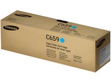 NEW Samsung CLT-C659S Cyan Toner Cartridge Color Laser Printer CLX-8640 CLX-8650