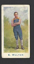 SNIDERS & ABRAHAMS - AUSTRALIAN FOOTBALLERS (A) - E WALTON