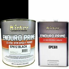 1 Gallon Kirker Enduro Prime Epoxy Black Primer EP612 & Catalyst EPC611 - Auto