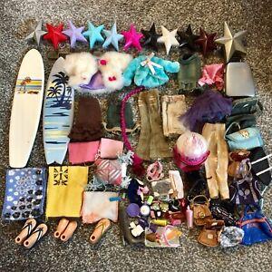 Bratz Doll Bundle Mixed Clothes Shoes Accessories