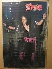 Vintage DIO rock n roll American heavy metal band 1984 original Poster 1036