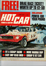 Hot Car Magazine - June 1975 - Tuning Supplement