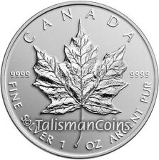 Canada 2014 Special Edition Maple Leaf Classic Bullion $5 Pure Silver