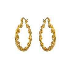 Spray Leverback Hoop Earrings Yellow Gold Filled Korea Earings Wholesale Chic
