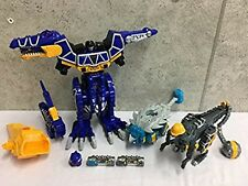 Power Rangers Dino Charge DX Spinodaioh Tobaspino kyoryuger Megazord Bandai USED