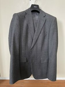 Windsor Anzug, grau/schwarz, Gr. 48, Top