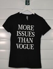 MORE ISSUES THAN VOGUE funny magazine psychology gift Women's T-Shirt
