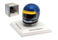 TrueScale tsm15ac10 RONNIE PETERSON GP di Monaco casco replica in scala 1974 - 1/8