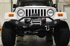 Jeep Wrangler YJ TJ Front Winch Bumper With LED's 1987-2006 Fishbone FB22016