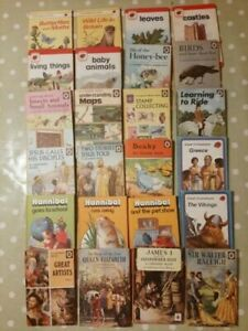 24 vintage Ladybird Books Bundle of inc Series 727 737 633 651 497 561 522 701