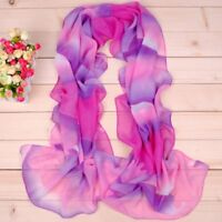 160 50cm Colourful Patch Patterned Fashion Ladies Chiffon Scarf Women Shawl X263